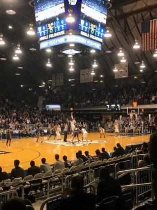 Butler vs. Georgetown at HinkleFieldhouse