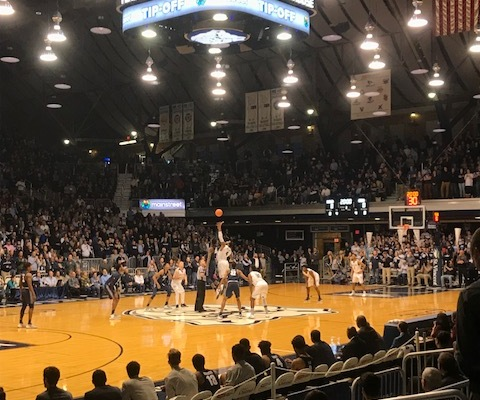 Butler vs. Georgetown at Hinkle Fieldhouse