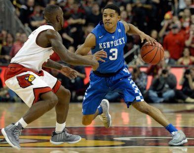NCAA Basketball: Kentucky at Louisville