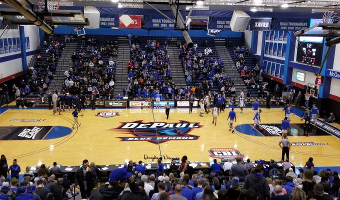 Strus Scores 38 to Push DePaul Past Longwood in CBI Second Round