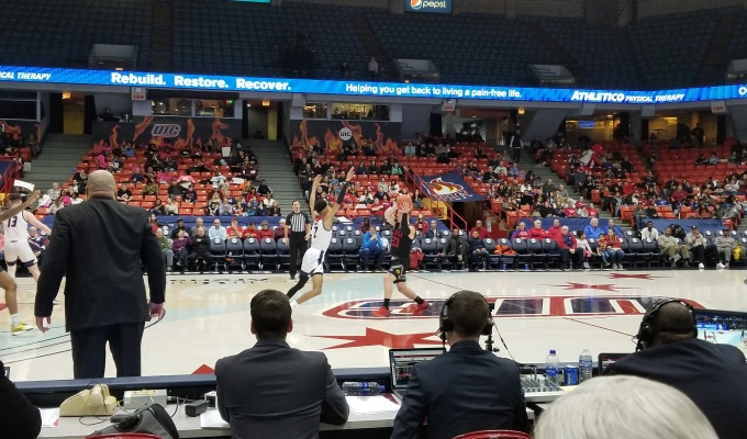 IUPUI's Poor Free Throw Shooting Dooms Them at UIC
