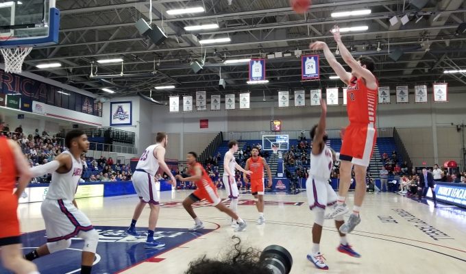 Bucknell Defeats Second Seed American in the Patriot League Tournament Quarterfinals