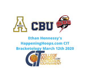HappeningHoops.com Final CIT Bracketology of 2019-20 Season (Who Would Have Been In)